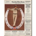 """1980 Dickies Ad """"The New Work Times"""""""