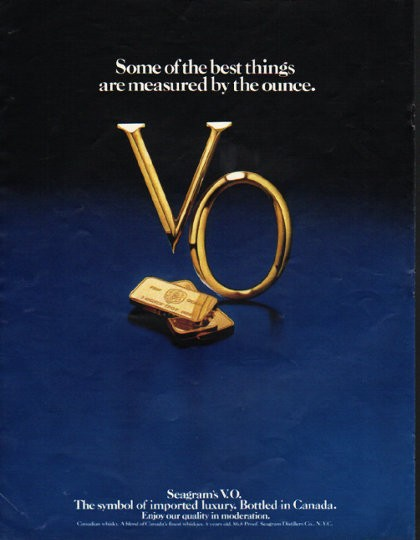 1980 Seagram S V O Vintage Ad Quot Best Things Quot