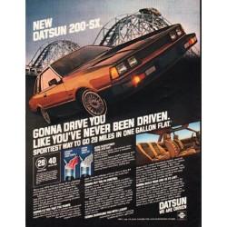 "1980 Datsun Ad ""Gonna Drive You"" ~ (model year 1980)"