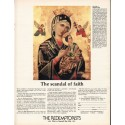 "1980 The Redemptorists Ad ""scandal of faith"""