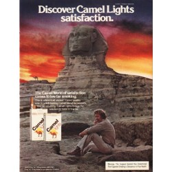 "1980 Camel Cigarettes Ad ""satisfaction"""