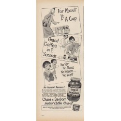 "1949 Chase and Sanborn Ad ""For About 1 cent A Cup"""
