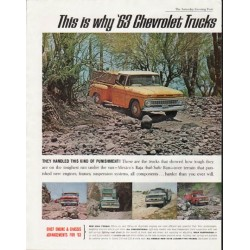 "1963 Chevrolet Trucks Ad ""This is why"" ~ (model year 1963)"