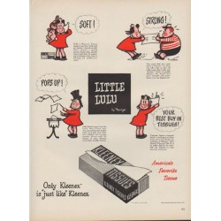 "1949 Kleenex Ad ""Little Lulu"""