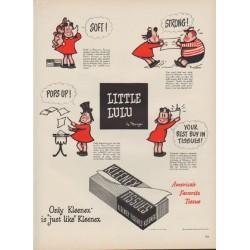 """1949 Kleenex Ad """"Little Lulu"""""""