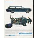 "1963 Dodge Wagons Ad ""take on anyone"""