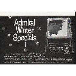 "1963 Admiral Television Ad ""totally new concept"""