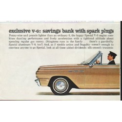 "1963 Buick Special Ad ""savings bank"" ~ (model year 1963)"