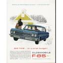 "1963 Oldsmobile Ad ""Big Time"" ~ (model year 1963)"