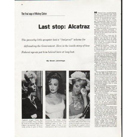"1963 Mickey Cohen Article ""Alcatraz"""