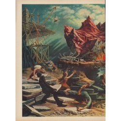 "1949 ""The Rock"" Article ""Artist Peter Blume worked on it for seven years"""