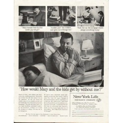 "1961 New York Life Insurance Company Ad ""Mary"""