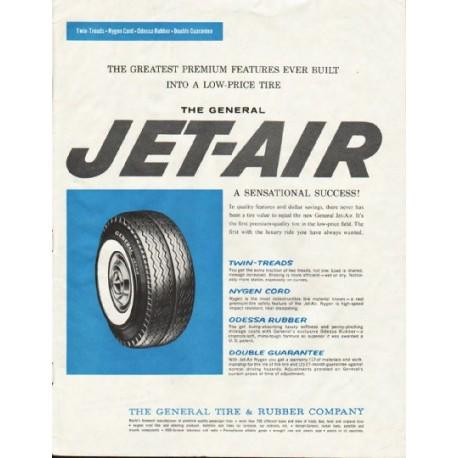 "1961 General Tire & Rubber Company Ad ""Premium Features"""