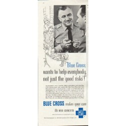 "1961 Blue Cross Ad ""help everybody"""