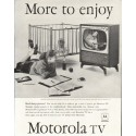 "1958 Motorola Television Ad ""Real sharp picture"""