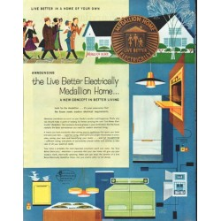 "1958 Medallion Home Ad ""Live Better"""
