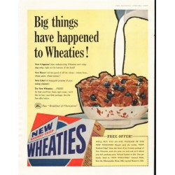 "1958 Wheaties Ad ""Big things"""