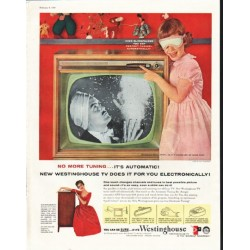 "1958 Westinghouse Television Ad ""No More Tuning"""