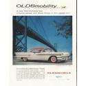 "1958 Oldsmobile Ad ""free-and-easy"" ~ (model year 1958)"