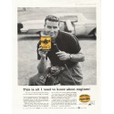 """1958 Pennzoil Ad """"all I need to know"""""""