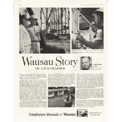 "1958 Employers Mutuals of Wausau Ad ""Wausau Story in Louisiana"""