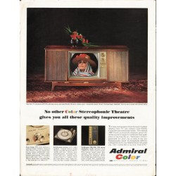"1964 Admiral TV Ad ""Color Stereophonic Theatre"""