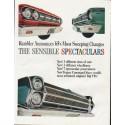 """1965 Rambler Ad """"Sensible Spectaculars"""" ~ (model year 1965)"""