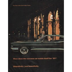 "1965 Pontiac Bonneville Ad ""success car"" ~ (model year 1965)"