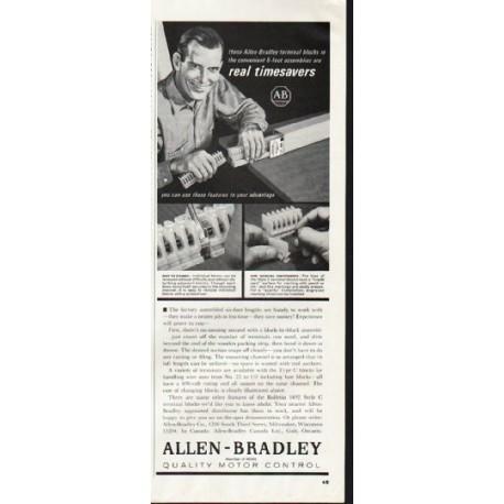 "1964 Allen-Bradley Ad ""real timesavers"""