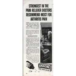 "1964 Anacin Ad ""Strongest"""