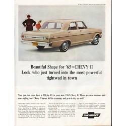 "1965 Chevrolet Nova Ad ""most powerful"" ~ (model year 1965)"
