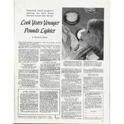 "1965 Executive Research Institute Ad ""Look Years Younger"""