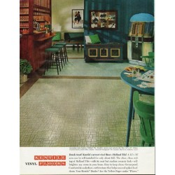 "1965 Kentile Floors Ad ""Dutch treat"""