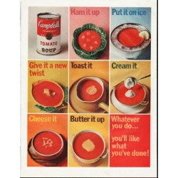 "1965 Campbell's Soup Ad ""Ham it up"""