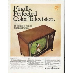 "1965 General Electric TV Ad ""Perfected"""