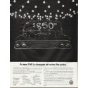 "1965 Volkswagen Ad ""A new VW"""