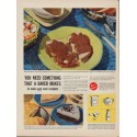 """1949 Bakers of America Ad """"You Need Something That A Baker Makes"""""""