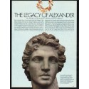 1980 Legacy of Alexander Article ~ Relics from Ancient Greece