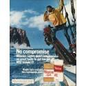 """1980 Winston Cigarettes Ad """"No compromise"""""""