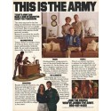 "1980 Army Ad ""This Is The Army"""