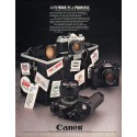 """1980 Canon Camera Ad """"A Symbol Is A Promise"""""""
