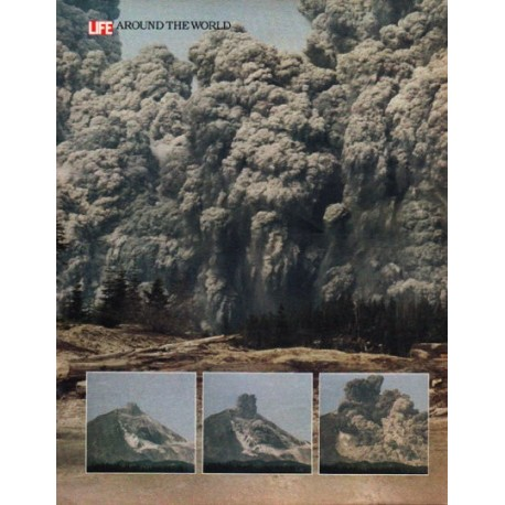 1980 Mount St. Helens Article ~ When the Mountain Blew