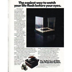 "1980 Bell & Howell Ad ""The easiest way"""