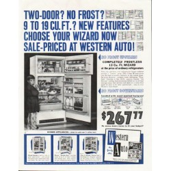 "1961 Western Auto Ad ""Two-Door?"""