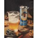 """1961 Burgermeister Beer Ad """"brewed for refreshing people"""""""