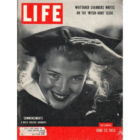 1953 LIFE Magazine Cover Page ~ June 22, 1953