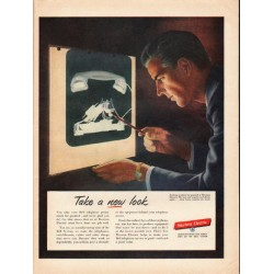 "1953 Western Electric Ad ""new look"""