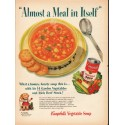 "1953 Campbell's Soup Ad ""Meal in Itself"""