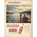 """1953 Early Times Whisky Ad """"This is Kentucky"""""""