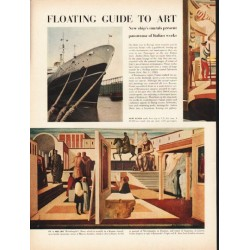 1953 Floating Guide to Art Article